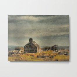 Is There Anyone at Home? Metal Print