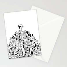 Pupper Pile Stationery Cards