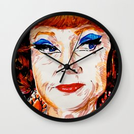 Agnes Moorehead Wall Clock