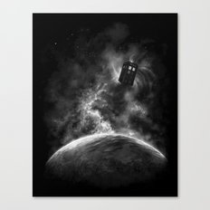 Space and Time Canvas Print