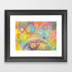 Chameleon Dreams Framed Art Print