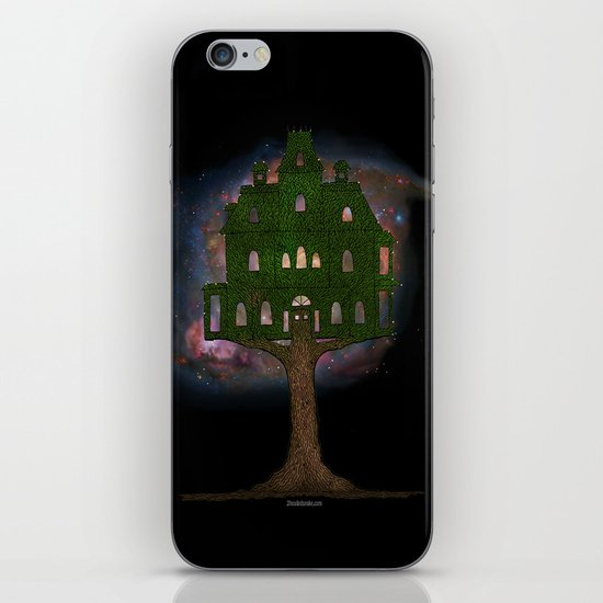 Cosmos Tree House iPhone & iPod Skin
