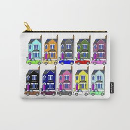 My own Notting Hill / A Victorian House & Retro car Carry-All Pouch