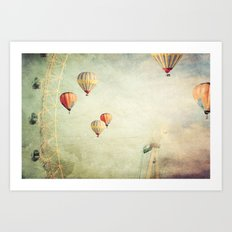 Tales of Another Time Art Print