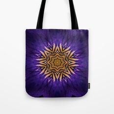 my purple flower Tote Bag