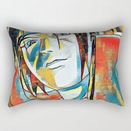 Colors of a Hero Rectangular Pillow