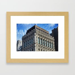 90 West Street Framed Art Print