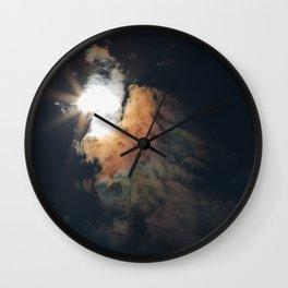Bird of an Eclipse Wall Clock
