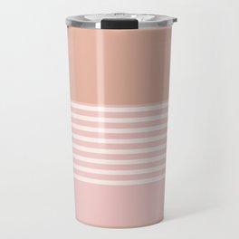 Marfa Abstract Geometric Print in Pink Travel Mug