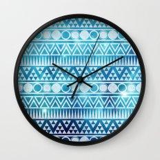 Tribal Ice Wall Clock