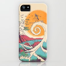 Surf Before Christmas iPhone (5, 5s) Slim Case