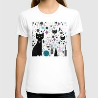 kittens T-shirts featuring Halloween Kittens  by Carly Watts