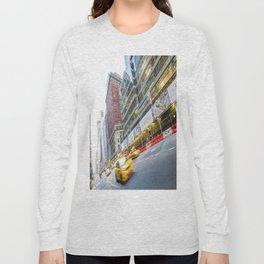 New York Street Scene Long Sleeve T-shirt