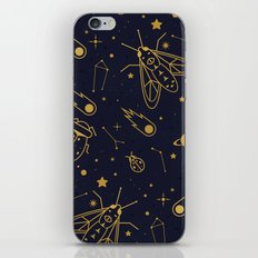 Golden Celestial Bugs iPhone & iPod Skin