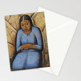 Alfredo Ramos Martínez (1872-1946) the little woman Stationery Cards