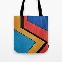 road Tote Bags featuring Road by Nope