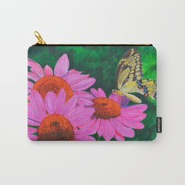A Visitor In The Garden by Teresa Thompson Carry-All Pouch