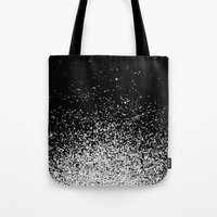murakami Tote Bags featuring infinity by Bunny Noir