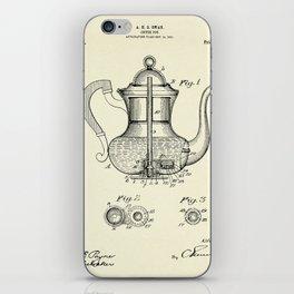 Coffee Pot-1912 iPhone Skin