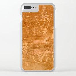 Sego Canyon Petroglyph - Utah Clear iPhone Case