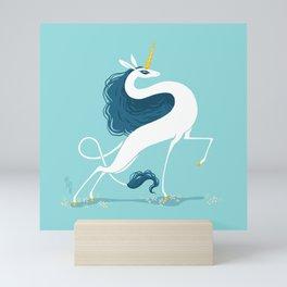 Snek Unicorn II Mini Art Print