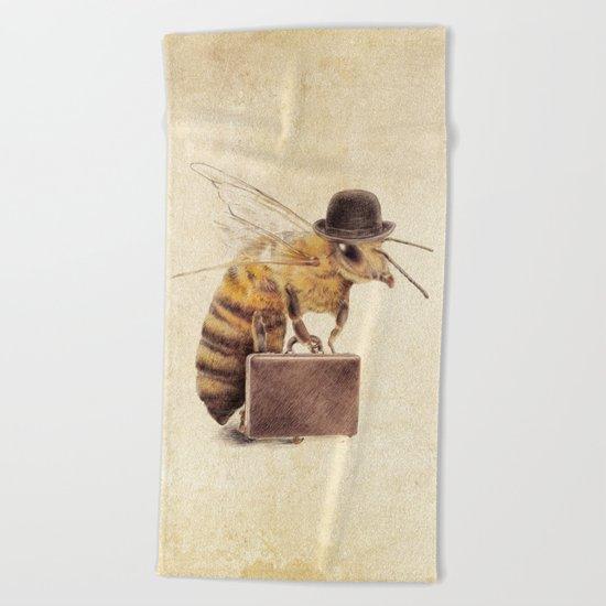 Worker Bee Beach Towel