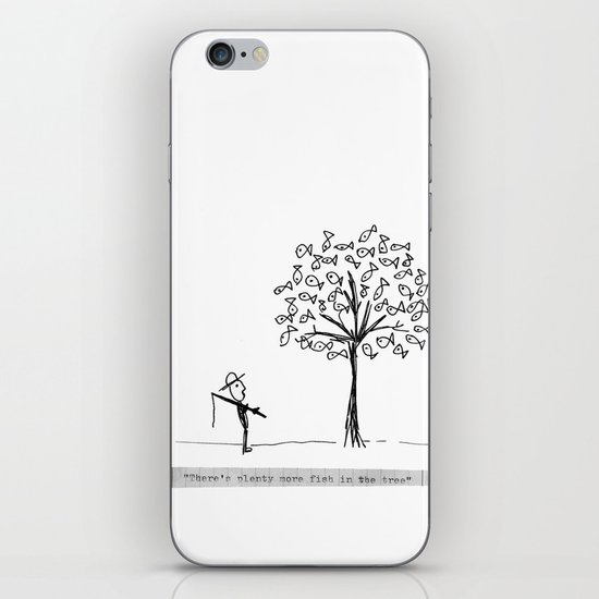 more fish in the tree iPhone & iPod Skin