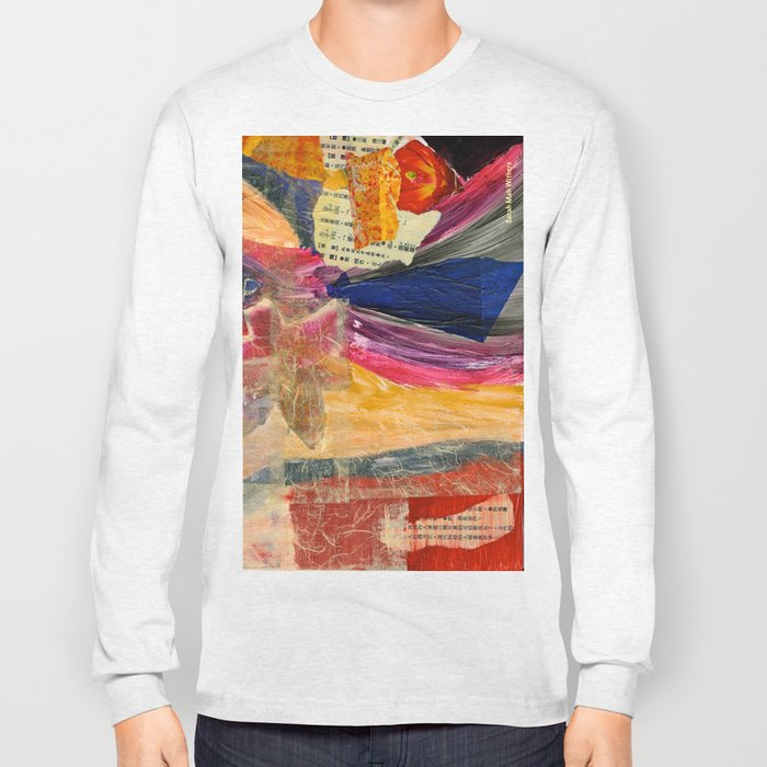 Collage Love - Asian Tie Long Sleeve T-shirt