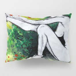 Mohawk Nudist Pillow Sham