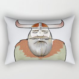 Elder Gustaf - the Viking Rectangular Pillow