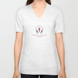 Musical Therapy  Unisex V-Neck