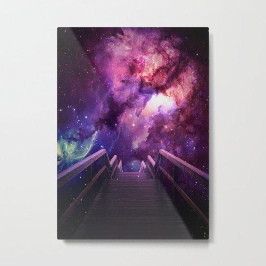 Into the bridge Metal Print