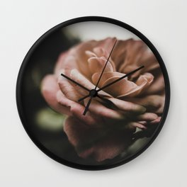 Rose in color Wall Clock