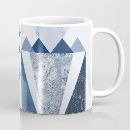 Blue Shapes Coffee Mug