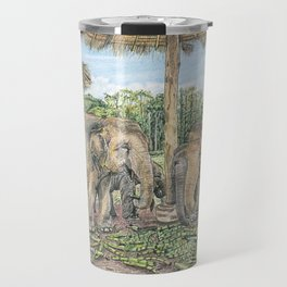 Rescued in Thailand Travel Mug