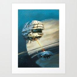 Saturn II Art Print