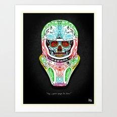 Vashta Nerada Art Print