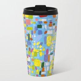 Espiral en base Azul Travel Mug