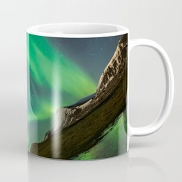 Aurora Borealis - Northern Lights over Iceland Coffee Mug