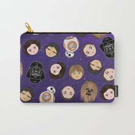 Stars w pattern Carry-All Pouch