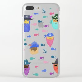 Pirates Clear iPhone Case