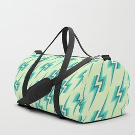Lightning Pattern - Melon Duffle Bag