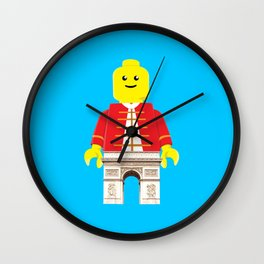Arc De Triomphe Lego Wall Clock