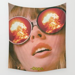 Oops Wall Tapestry