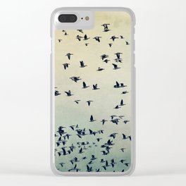 The flight Clear iPhone Case