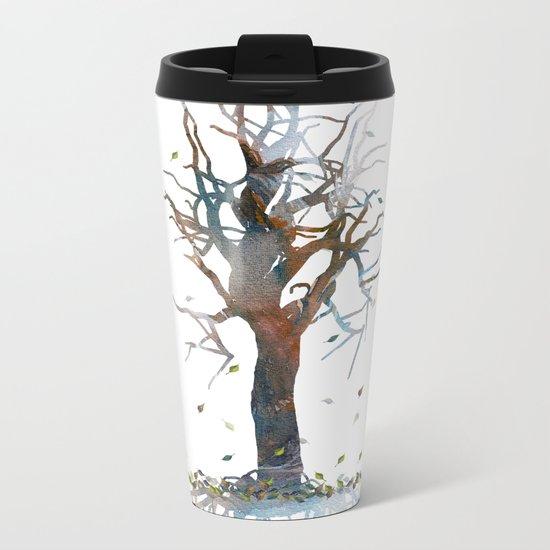 Death Tree Metal Travel Mug