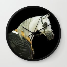 Arabian Stallion3 Wall Clock