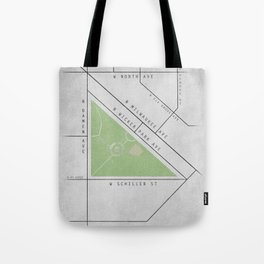 Parks of Chicago: Wicker Park Tote Bag