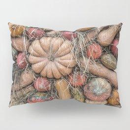 Pumpkins on hay Pillow Sham