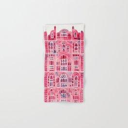 Hawa Mahal – Pink Palace of Jaipur, India Hand & Bath Towel